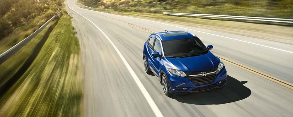 Honda HR-V Driving On Open Road