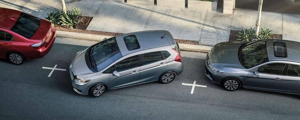 2019 Honda Fit EX-L Parallel Parking