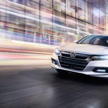 2019 Honda Accord cityscape