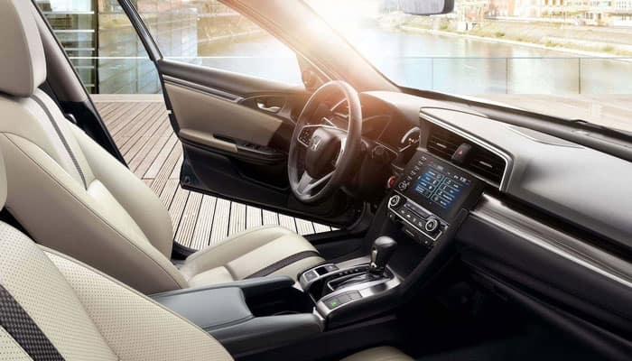 2019 Honda Civic Cargo Space
