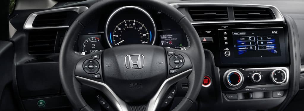 2019 Honda Fit Dashboard