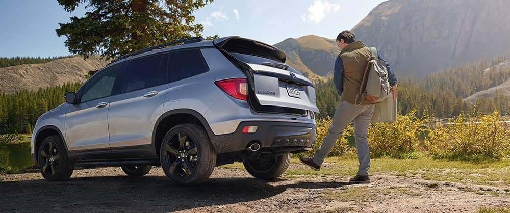 2019 Honda Passport Rear