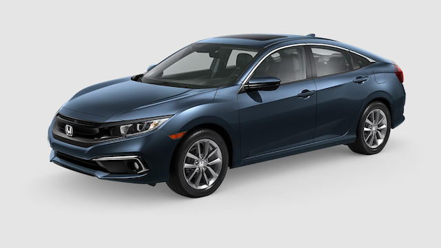 Honda Civic Colors 2020.2019 Honda Civic Colors Exterior Color Options By Body Style