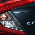 2019 Honda Civic Taillight and Nameplate