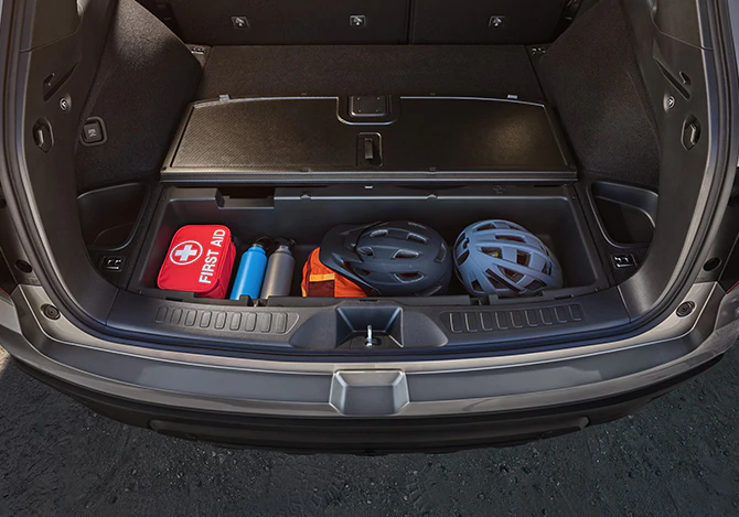 2019 Passport underfloor storage