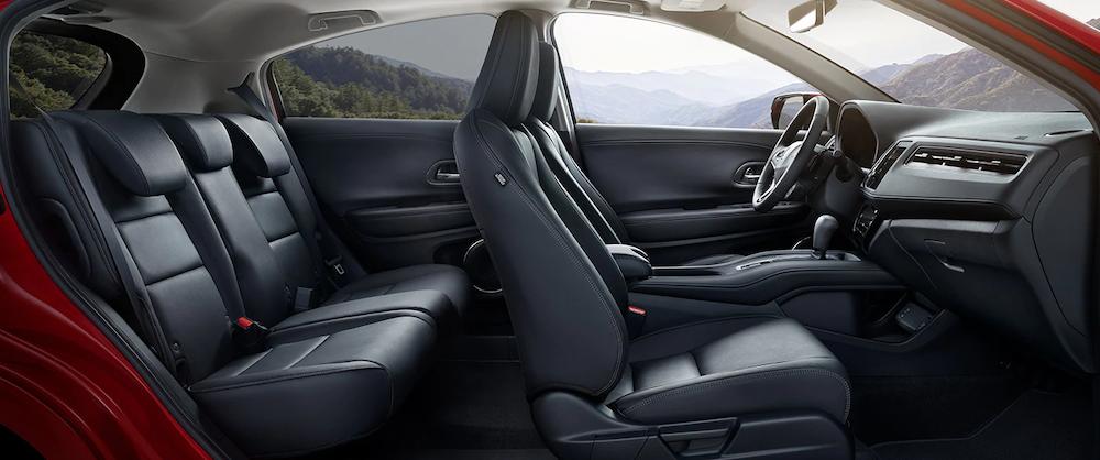 2019 Honda HR-V front and rear seats