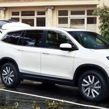 2020 Honda Pilot At The Store