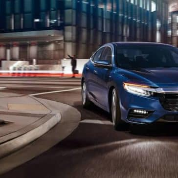2020 Honda Insight In the City
