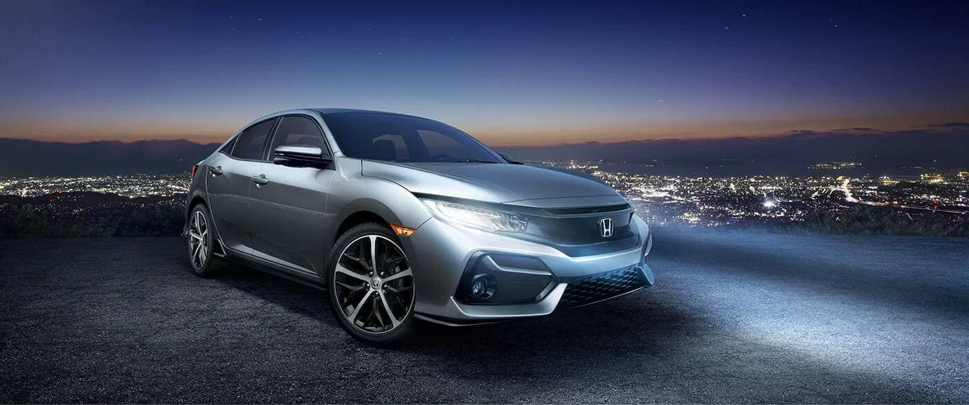 2020 Honda Civic Hatchback Parked