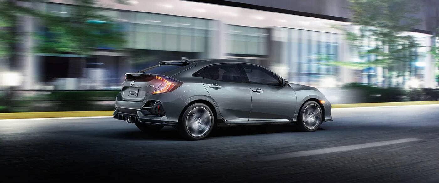 2020 Honda Civic Hatchback Driving