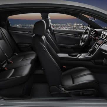 2020 Honda Civic Hatchback Seating