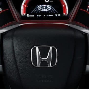 2020 Honda Civic Hatchback Steering Wheel