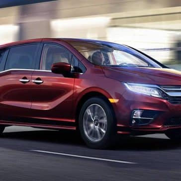 2020 Honda Odyssey At Night