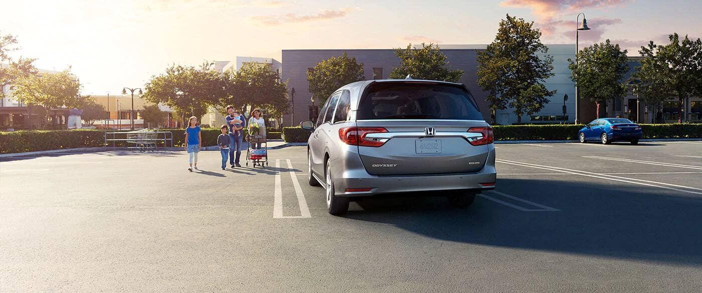 2020 Honda Odyssey Rear