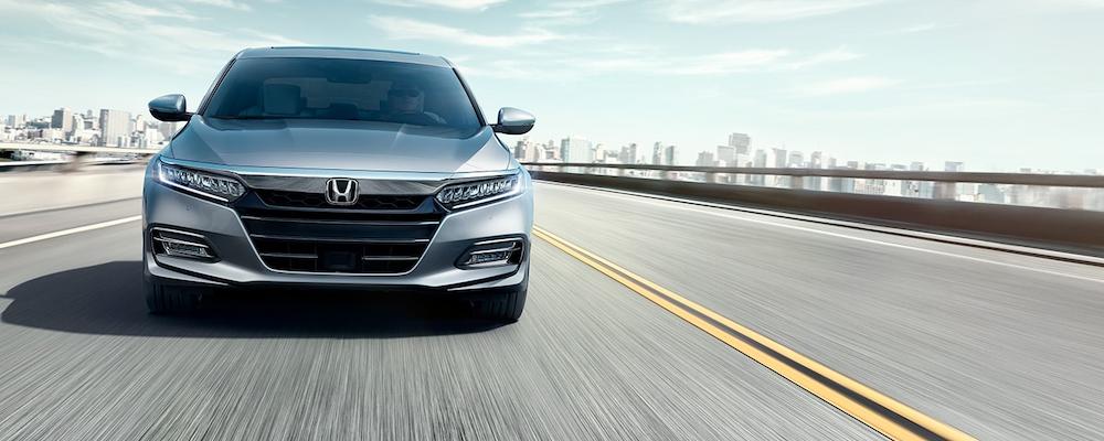 2020 Honda Accord on the highway
