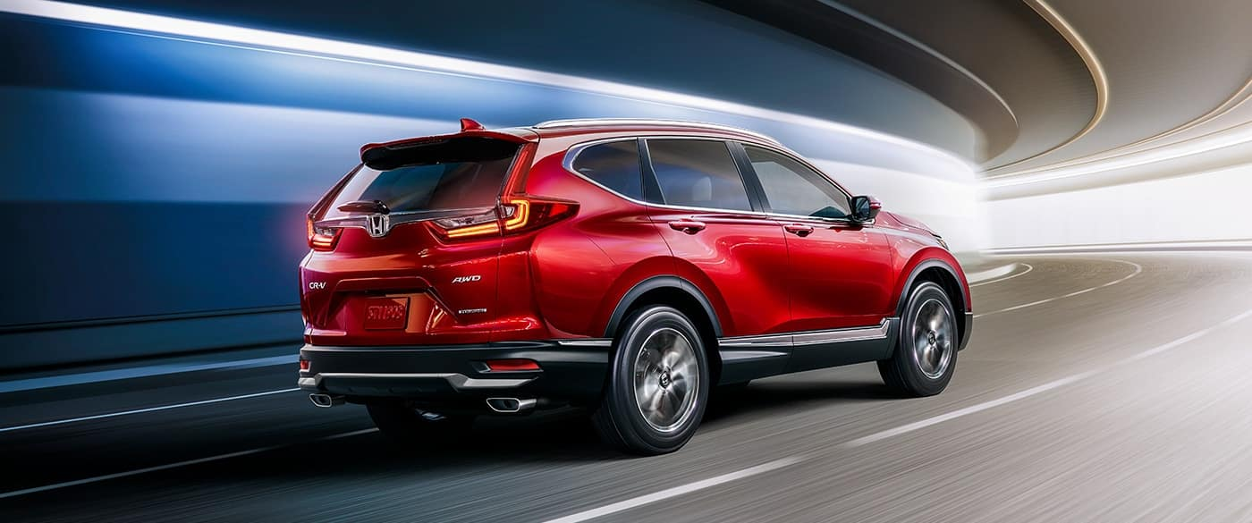 2020 Honda CR-V Rear
