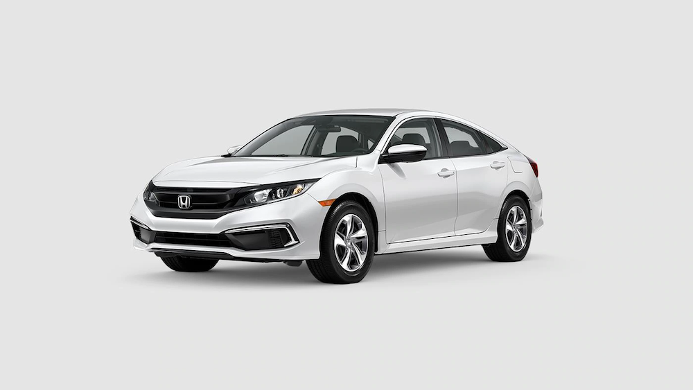 2020 Civic Sedan Platinum White Pearl