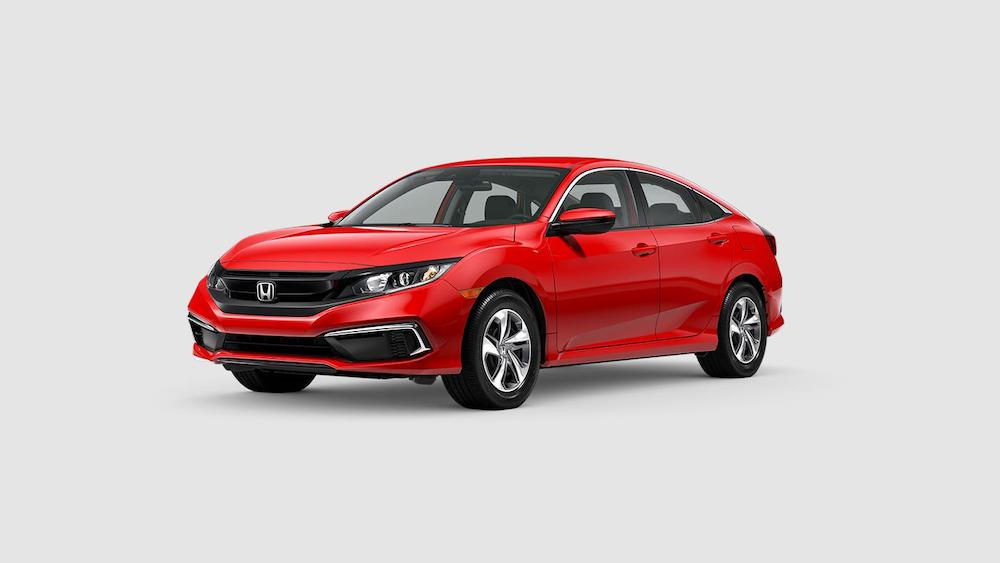 2020 Civic Sedan Rallye Red