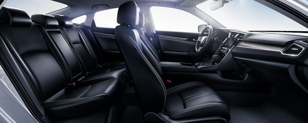 2020 Honda Civic Sedan seats