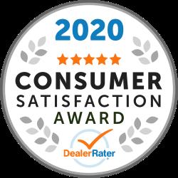 2020 Consumer Satisfaction Award