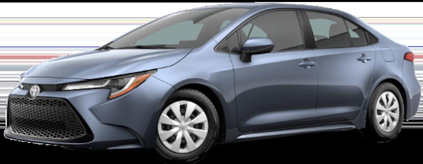 2020 Corolla L comparison