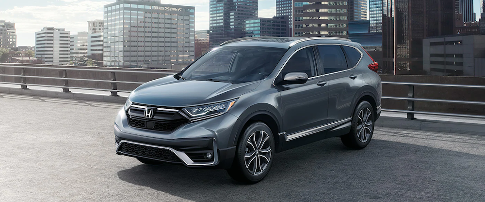 2020 CR-V Touring parked
