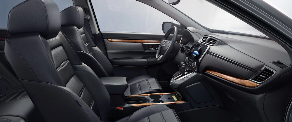 Front seats of 2020 CR-V Touring