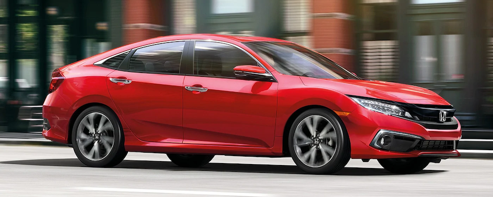 red 2020 Civic Sedan