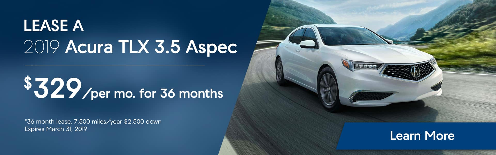 TLX 3.5 Aspec at Hubler Acura