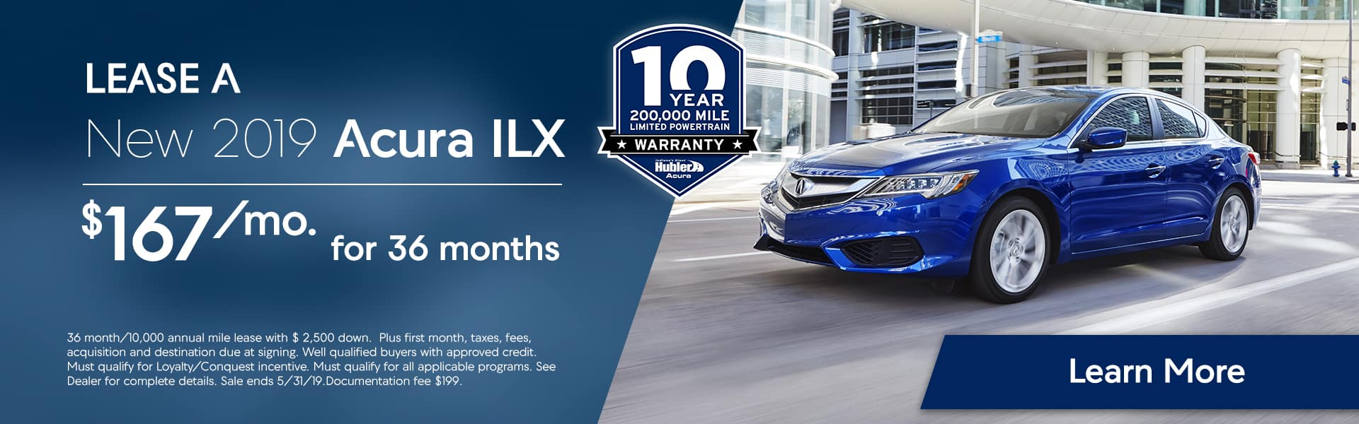 ILX offers at Hubler Acura