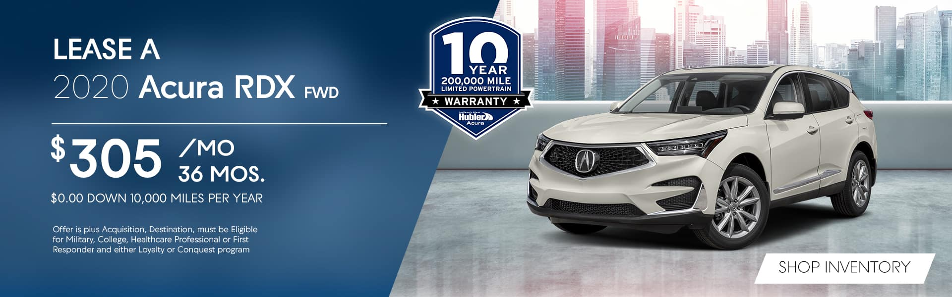 2020 RDX Lease Special