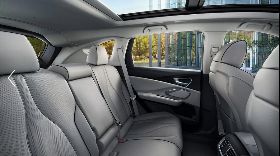 2021 acura rdx Interior backseat