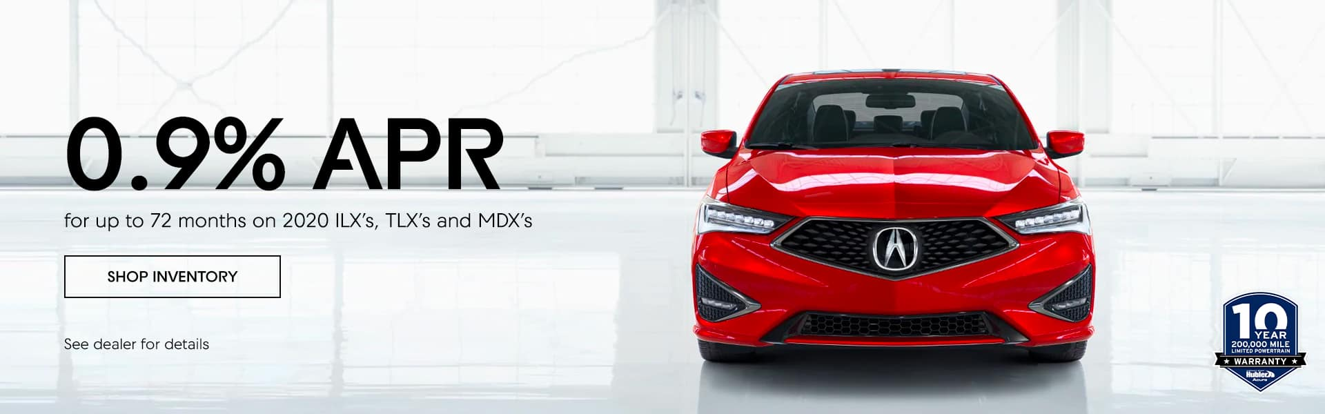 2020 ILX's, TLX's and MDX's
