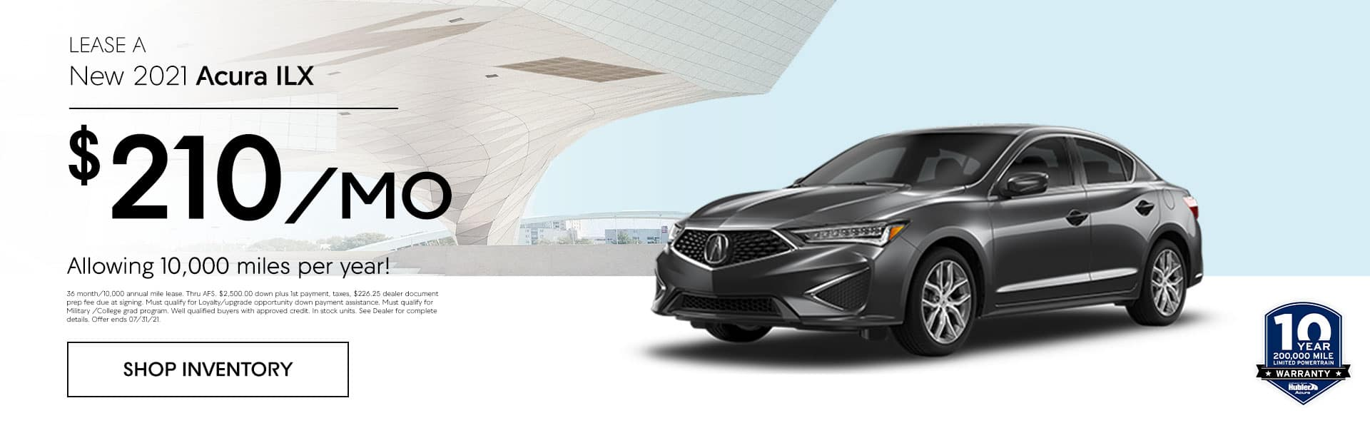 2020 Acura MDX AWD Lease for just $338.00 per month for 36 months allowing 10,000 miles per year!
