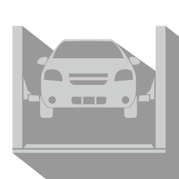 Full Service Car Lift Special Icon