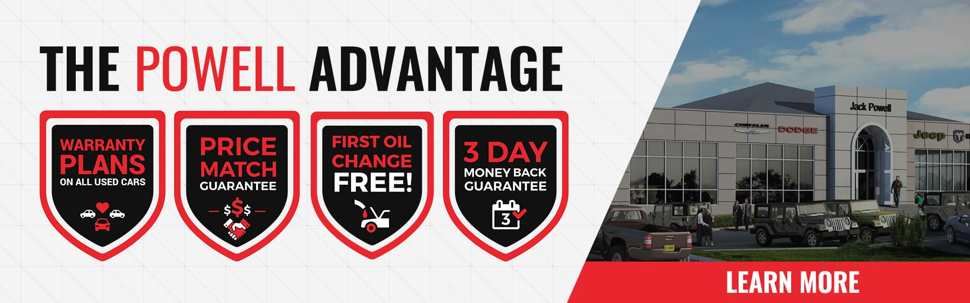 The Powell Advantage Banner