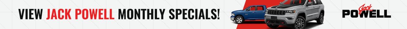 Monthly Specials Banner