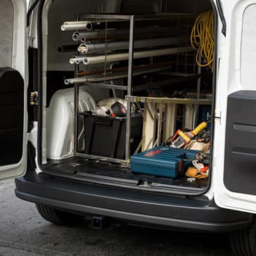 2018 RAM ProMaster City Area Tool Set Up