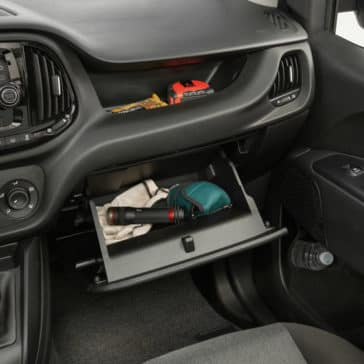 2018 RAM ProMaster City Dashboard Storage