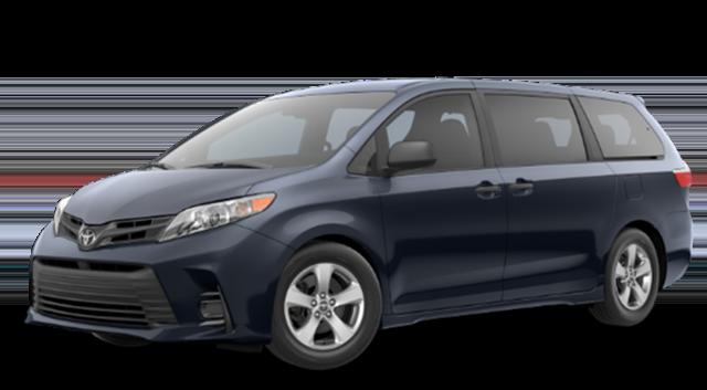 2019 Toyota Sienna Blue