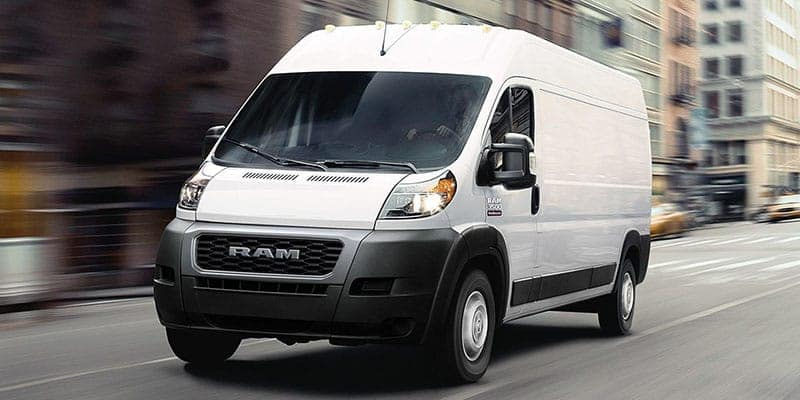2019-Ram-ProMaster-Exterior-Driving-Down-Street