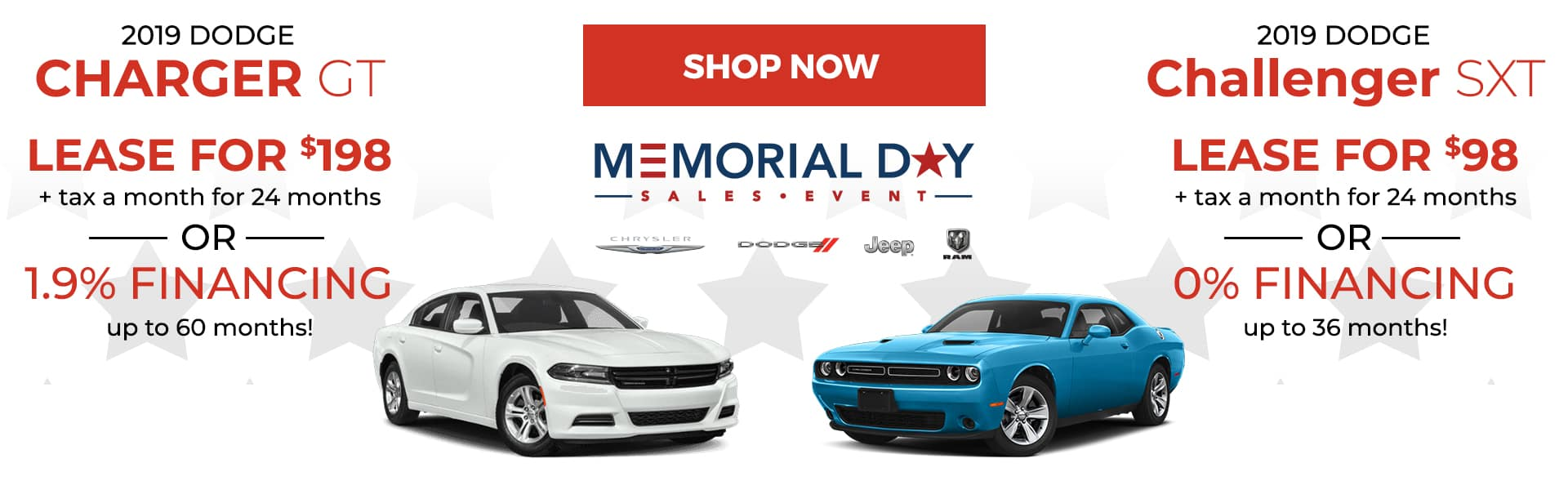 Dodge Memorial Day Offers
