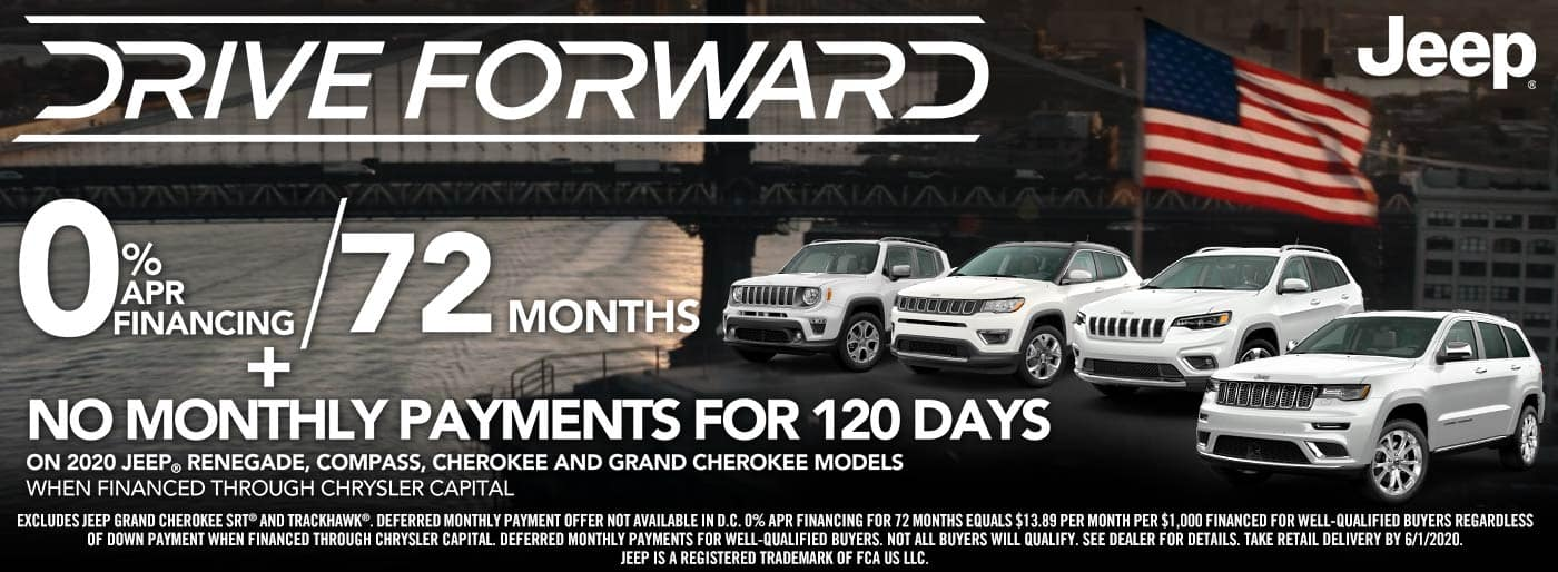 jeep no payments for 120 days