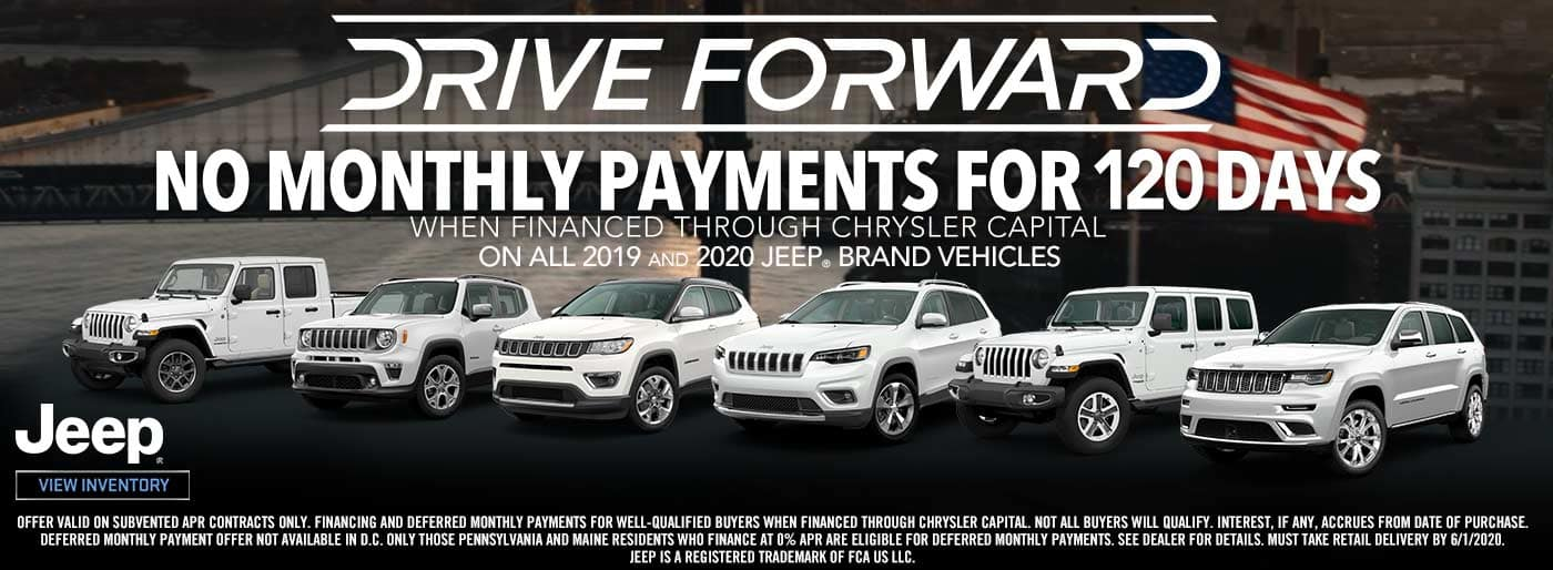Jeep no payments 120 days
