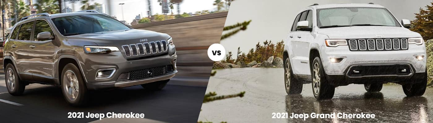 2021 Jeep Cherokee vs. 2021 Jeep Grand Cherokee