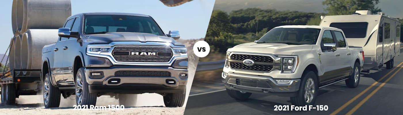 2021 Ram 1500 vs 2021 Ford F-150