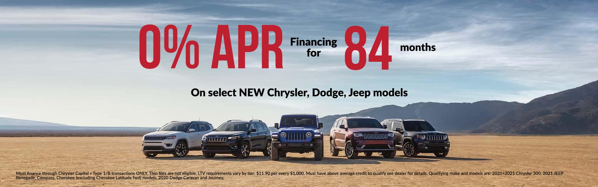 0% Financing for 84 Months!!!