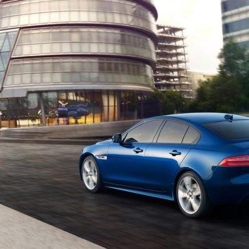 2018 Jaguar XE exterior