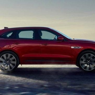 2018 Jaguar F-PACE exterior side profile