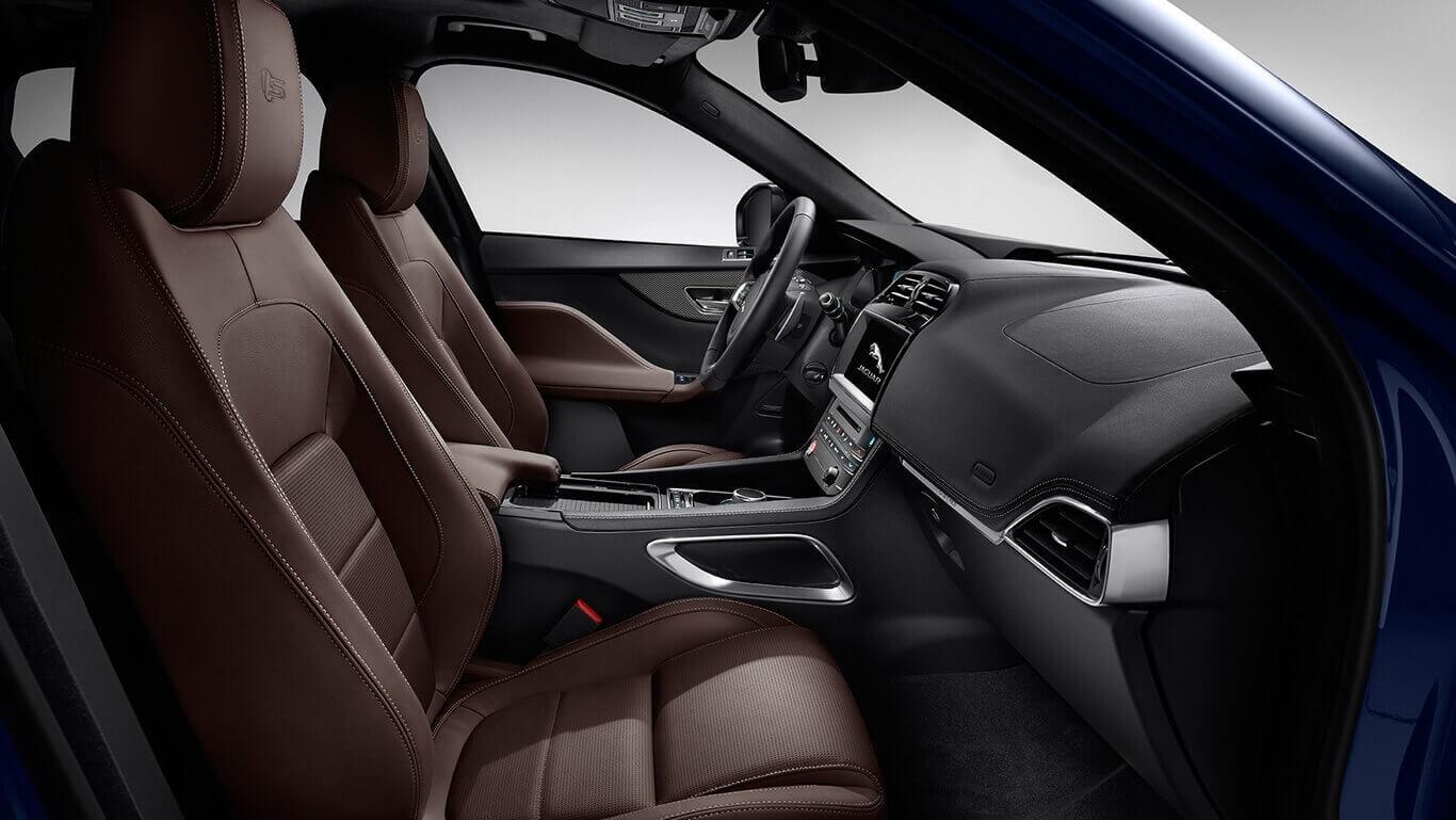 2018 Jaguar F-PACE Interior Cabin